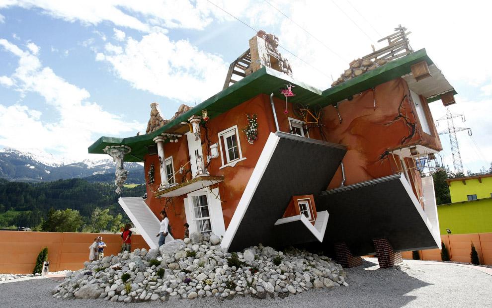 Cтроение в австрийской деревне Terfens