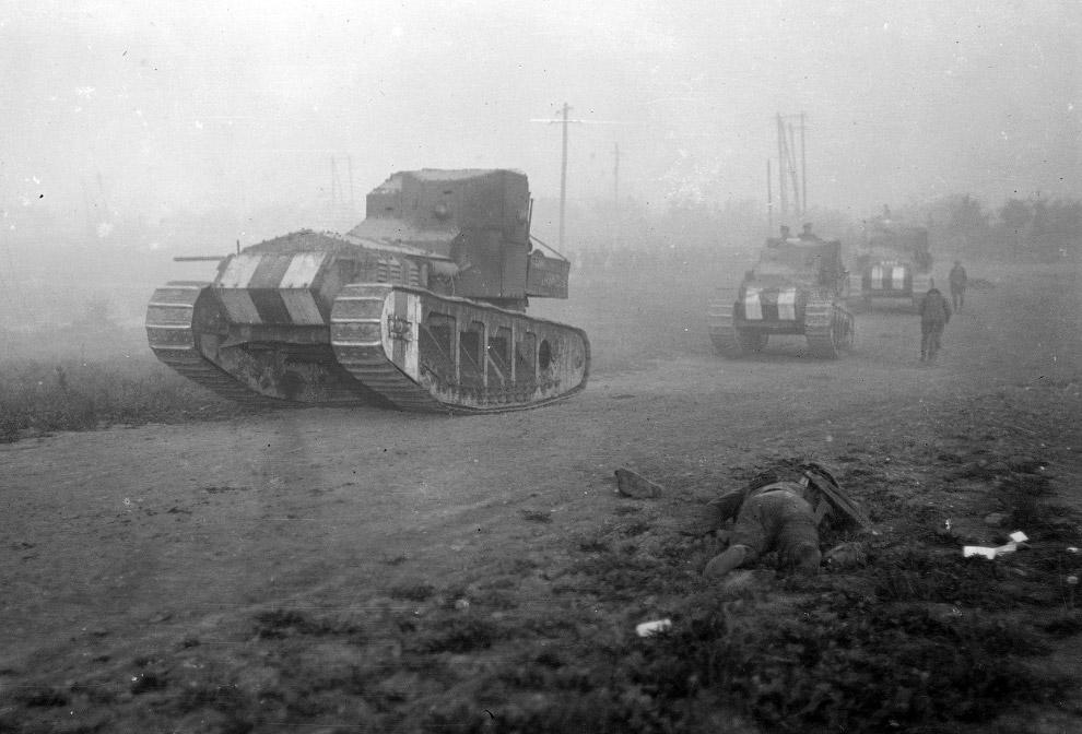 Британские средние танки Mk A «Whippet»