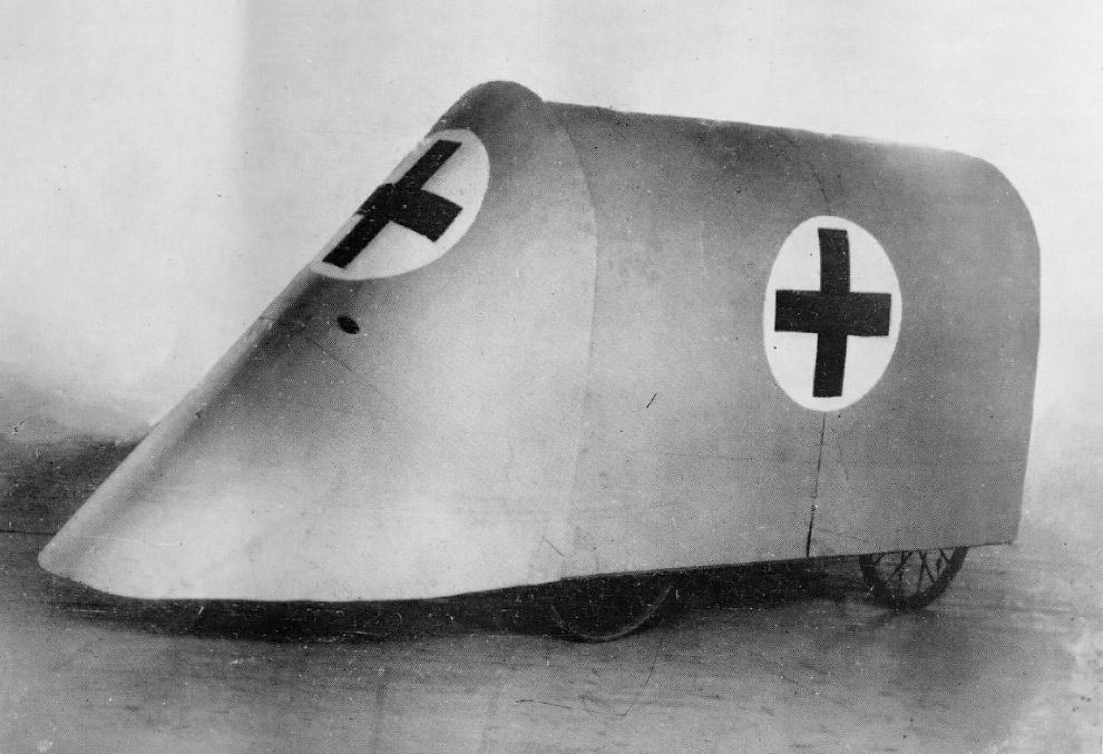 Экспериментальный автомобиль «Скорая помощь»