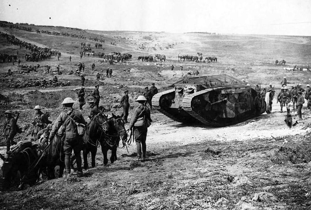 Британский танк Mark I