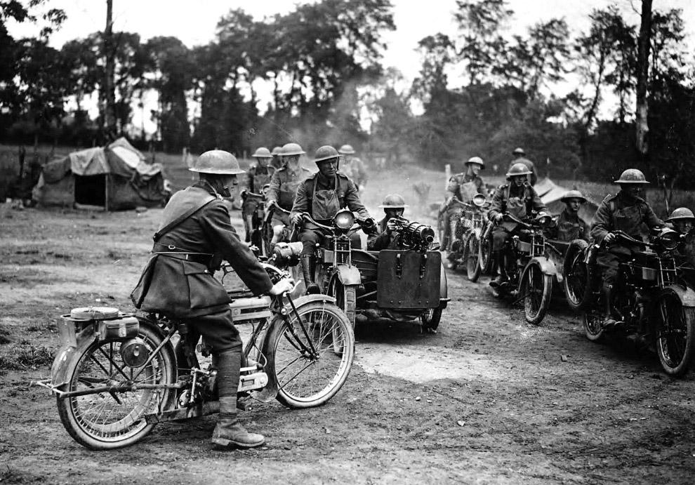 Пулеметные экипажи, 1918 год
