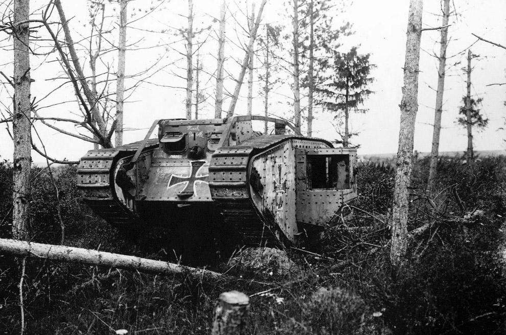 Британский тяжёлый танк Mark IV