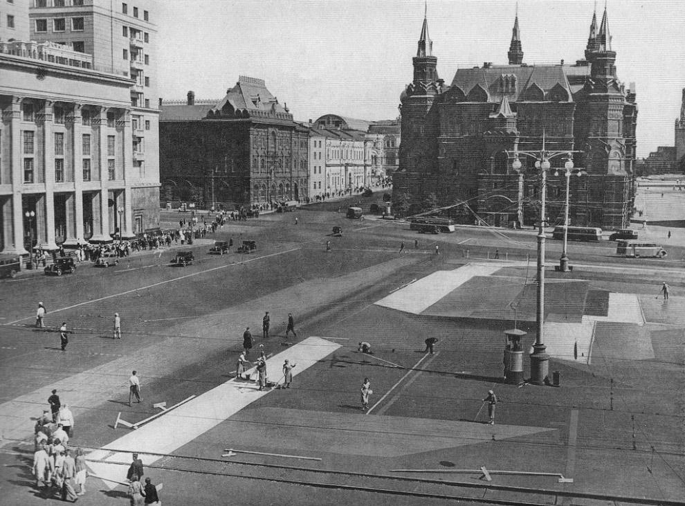 Маскировка Москвы