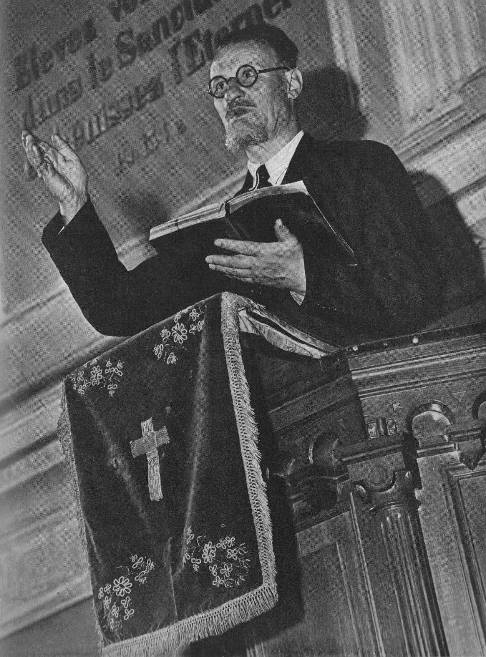 Баптистский пастор Михаил Акимович Орлов