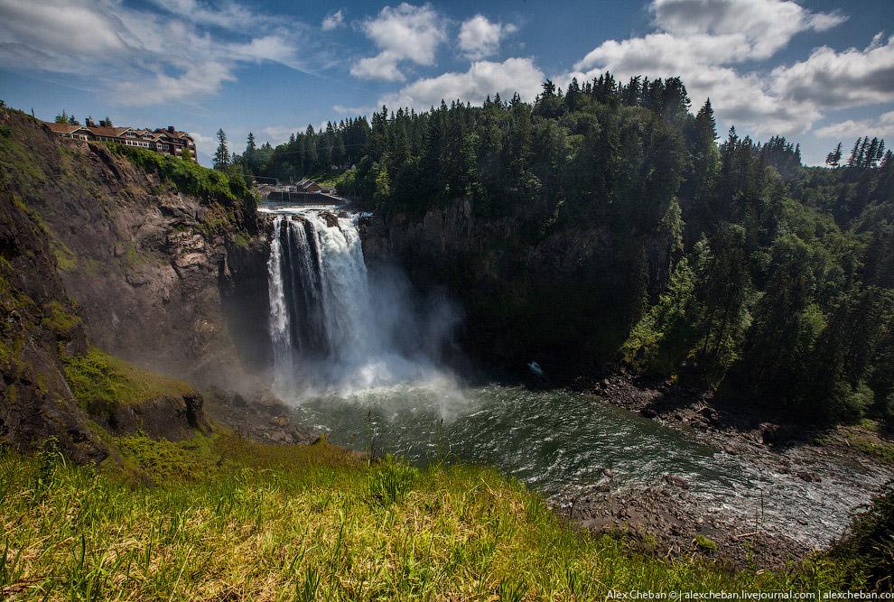 Водопады Snoqualmie Falls