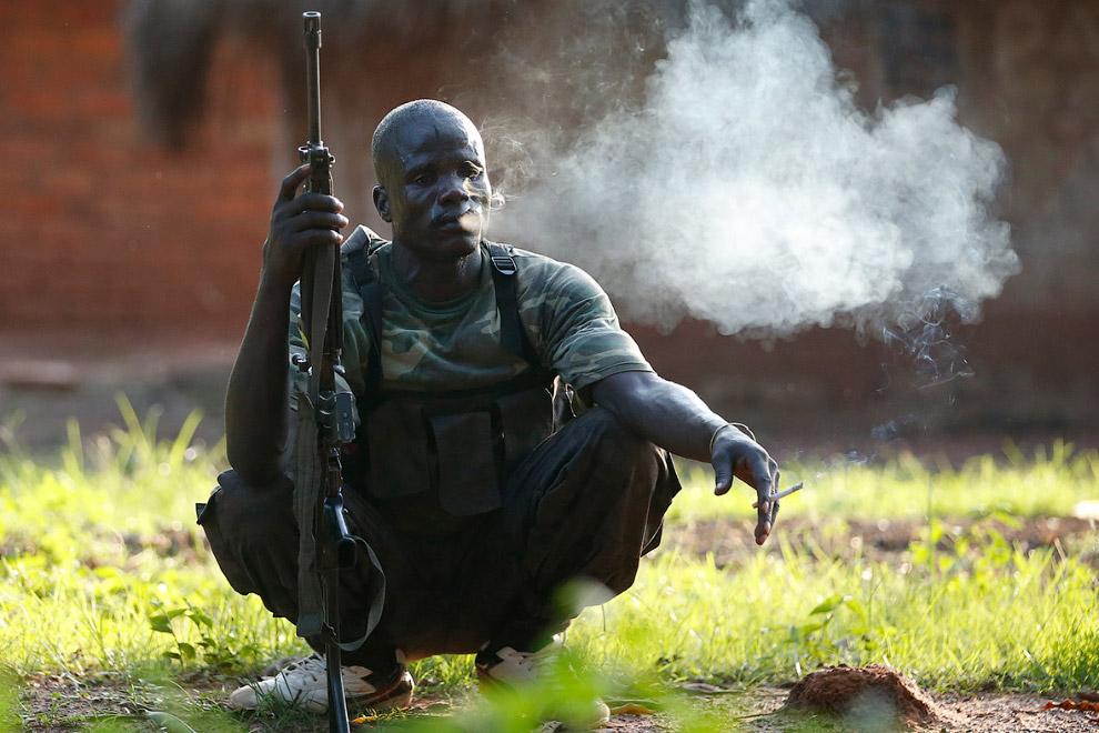 Боевик группировки «Селека»