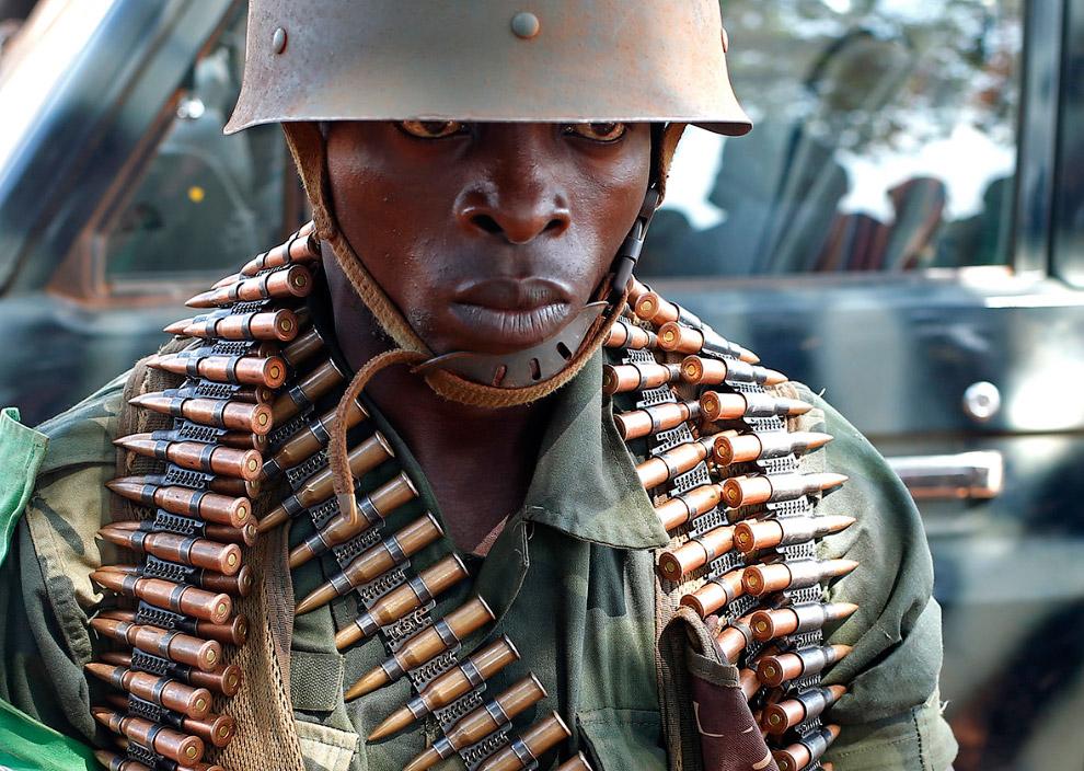 Солдат Демократической Республики Конго