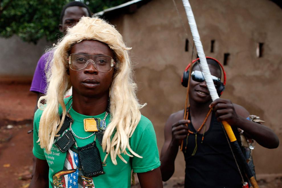 Модные христианские ополченцы «Анти-Балака», они противостоят боевикам «Селеки»