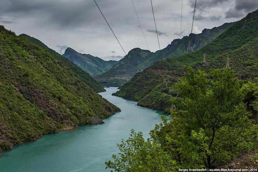 Каньон озера Коман