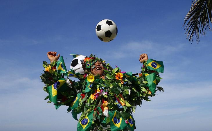 Бразилия перед Чемпионатом мира по футболу 2014