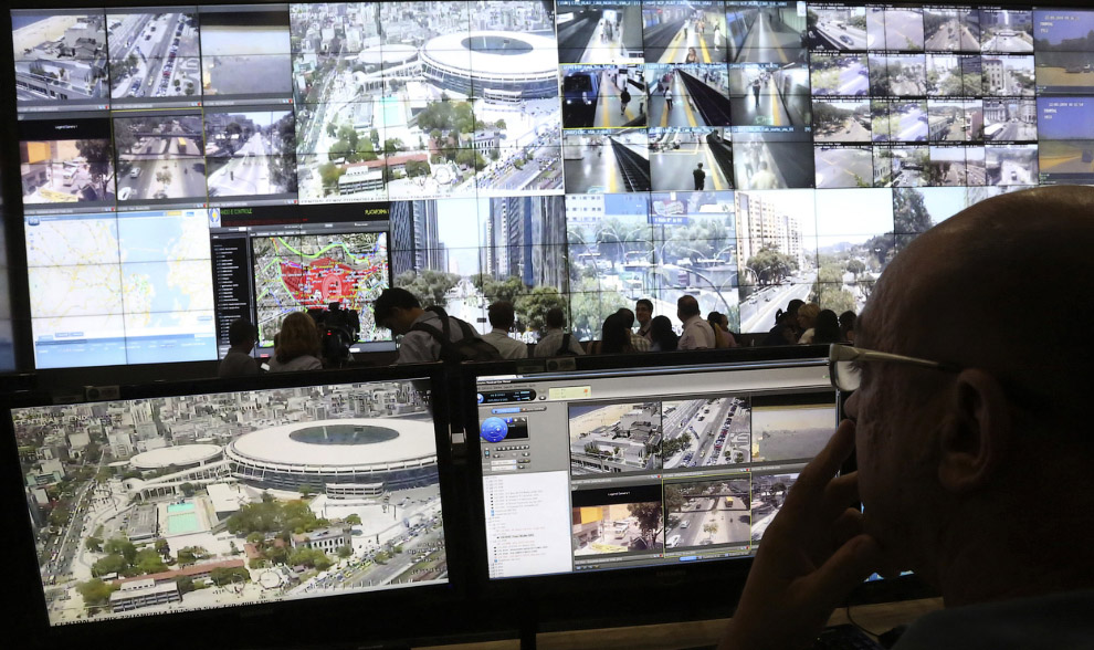 Центр безопасности в Рио-де-Жанейро