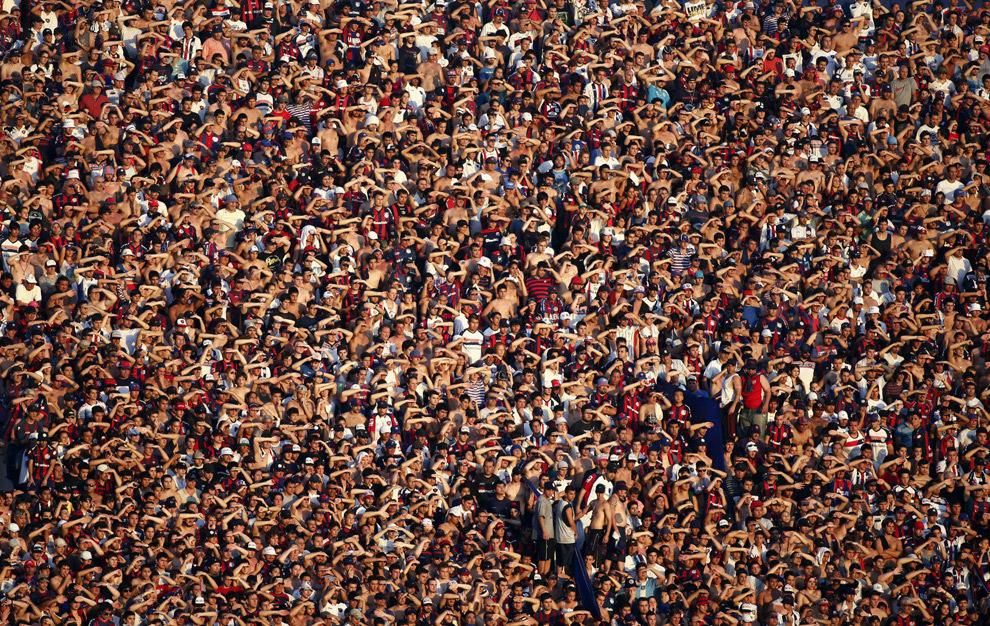 Страсти по футболу или болельщики в Буэнос-Айресе