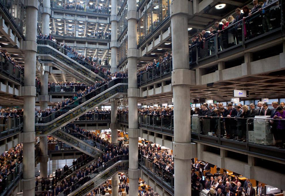 Lloyds Лондон — специальная страховая биржа