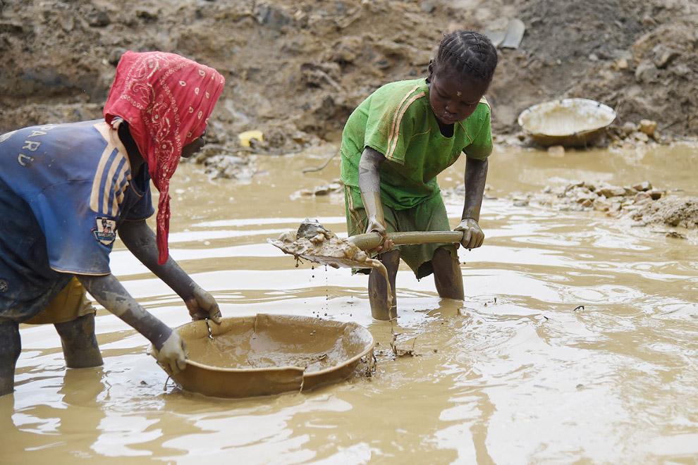 Поиски золота в Центральноафриканской Республике