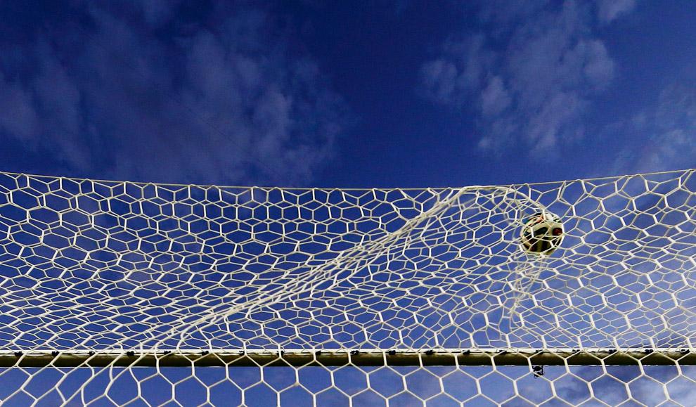 Гол Франции сборной Гондураса