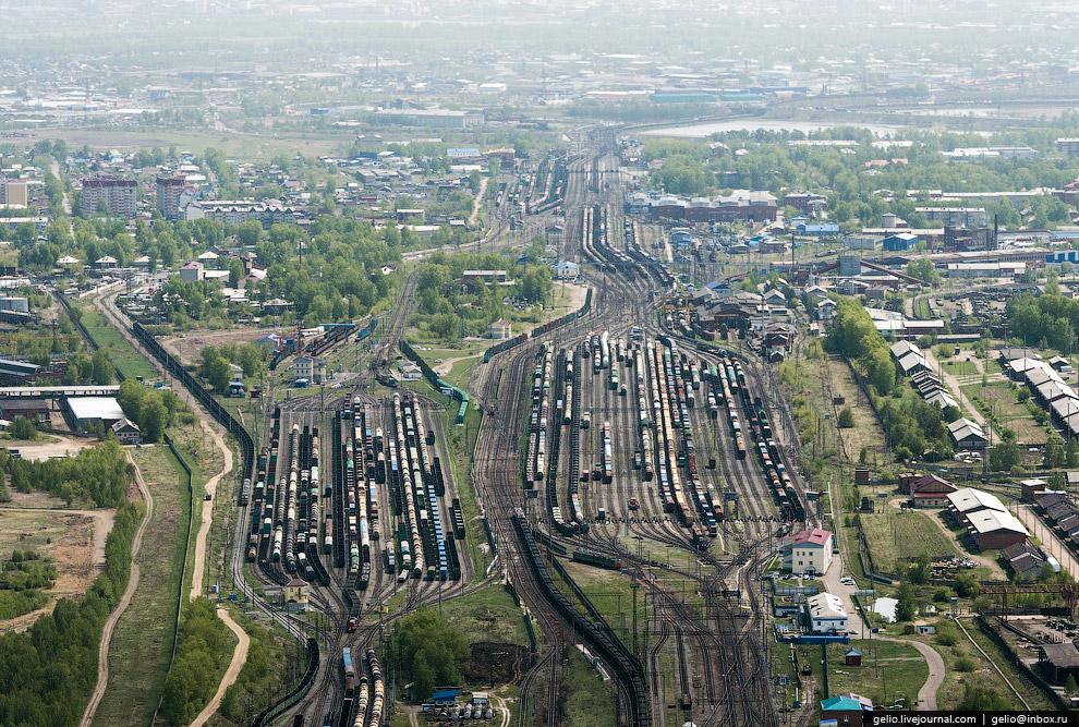 Железнодорожная станция Иркутск-Сортировочный
