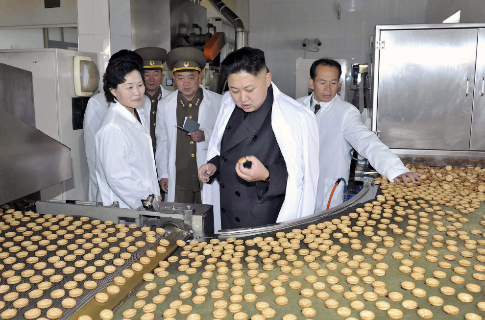 Инспекция на кондитерской фабрике