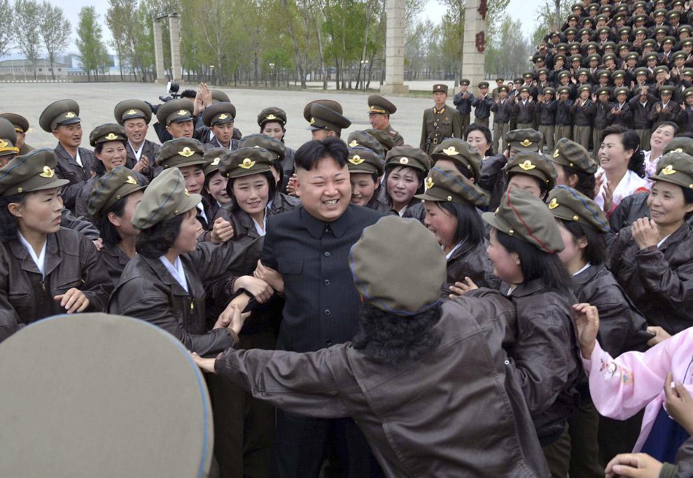 Фотосессия в Корейской народной армии