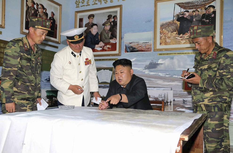 Ким Чен Ын часть Корейской народной армии
