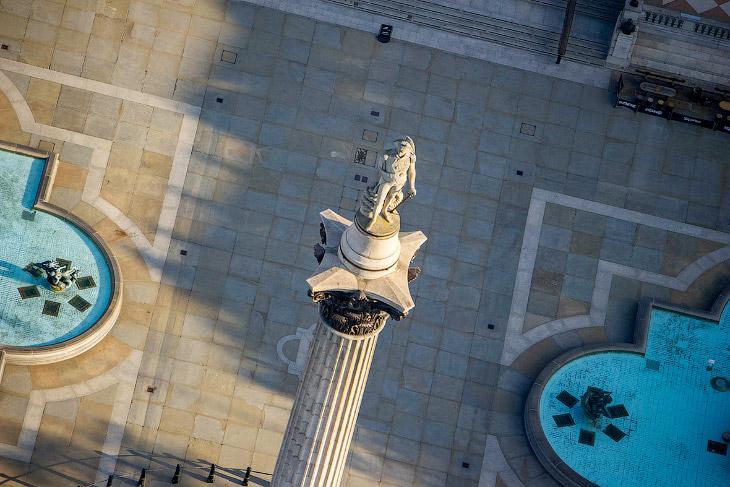 Колонна Нельсона на Трафальгарской площади