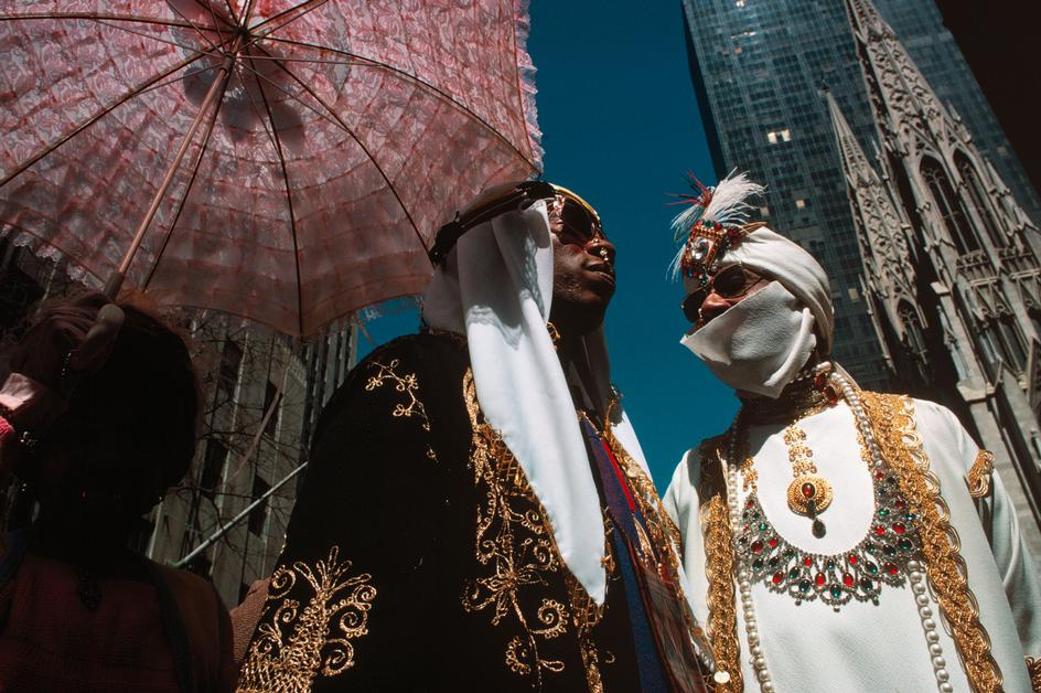 Парад шляпок на пятой авеню