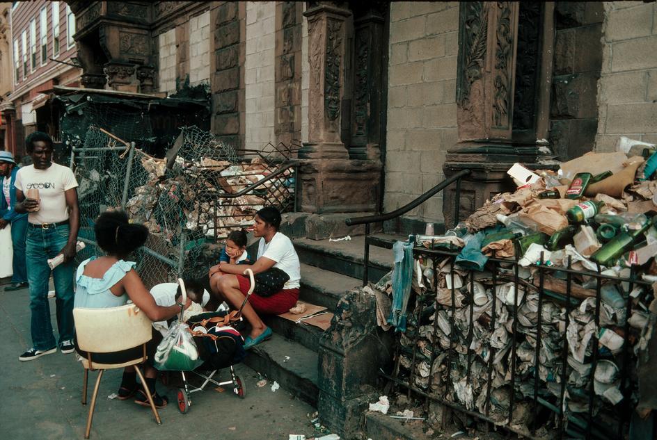 Улица в Восточном Гарлеме