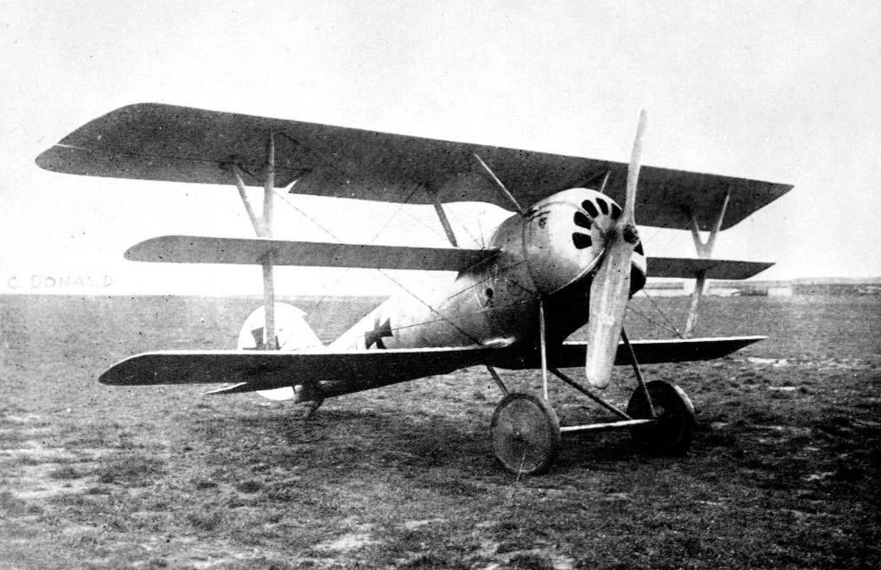 Немецкий триплан Pfalz Dr.I. Всего было построено около 40 самолетов