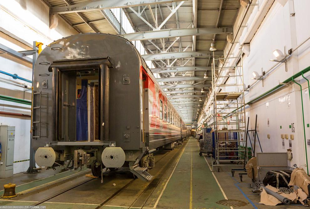 Как делают вагоны для поезда (34 фото)