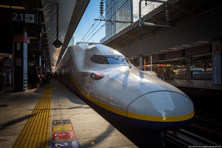 Японское железнодорожное чудо — поезд Синкансен