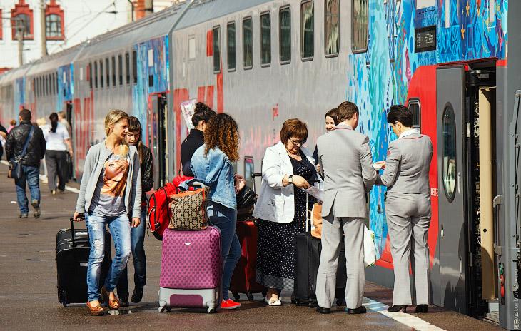 Двухэтажный поезд Москва — Адлер
