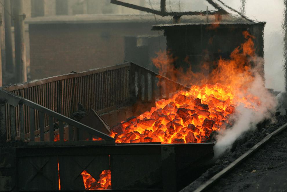 Угольная компания в провинции Шэньси, Китай