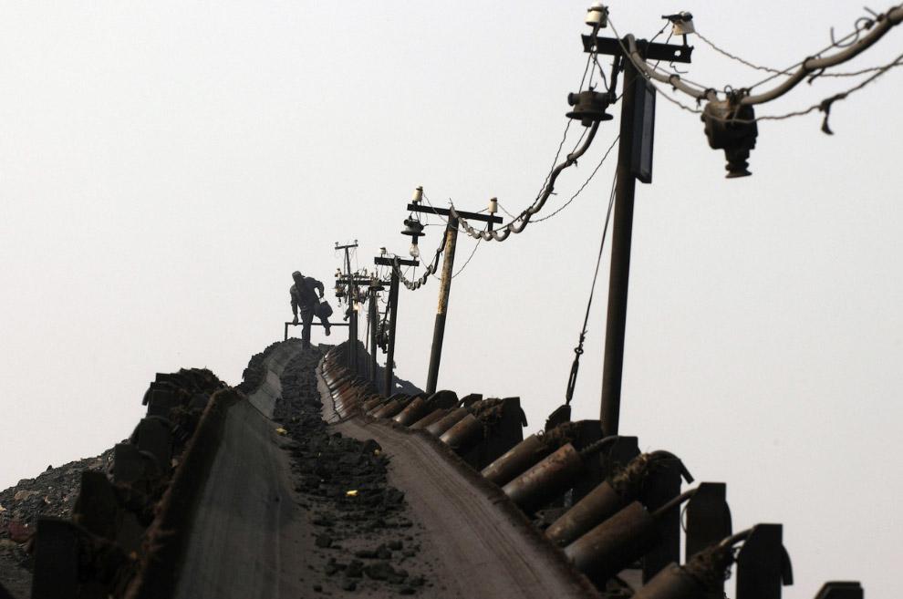 Добыча угля в провинция Шаньси