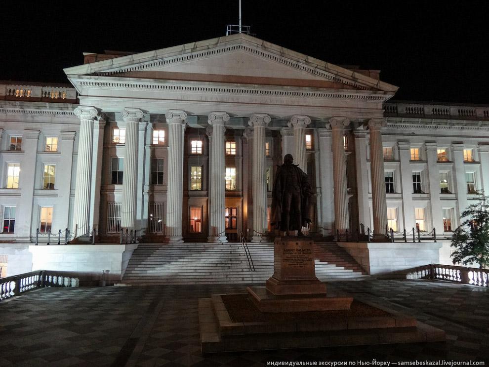 Здание Казначейства США
