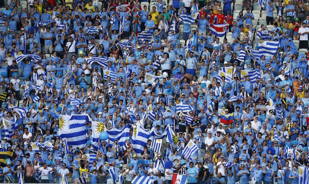 Болельщики Уругвая