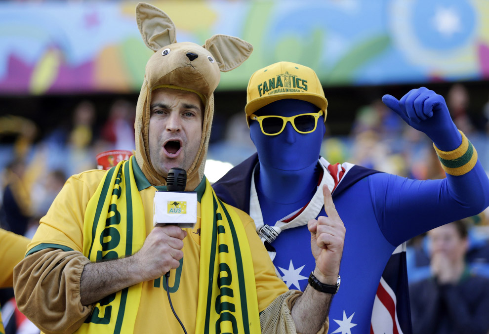 Австралийские болельщики