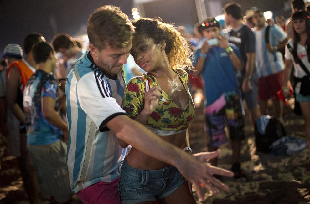 Аргентинец и бразильянка
