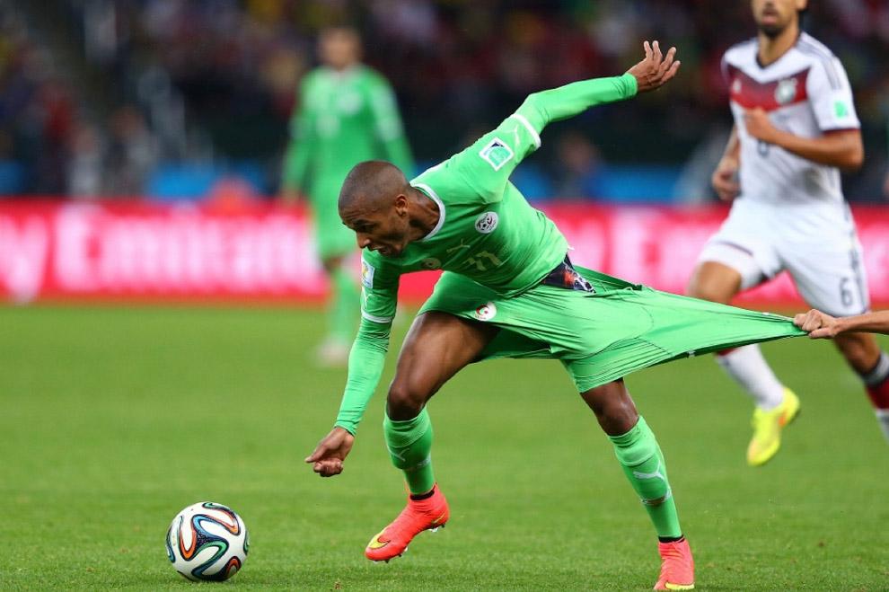 Матч Германия-Алжир
