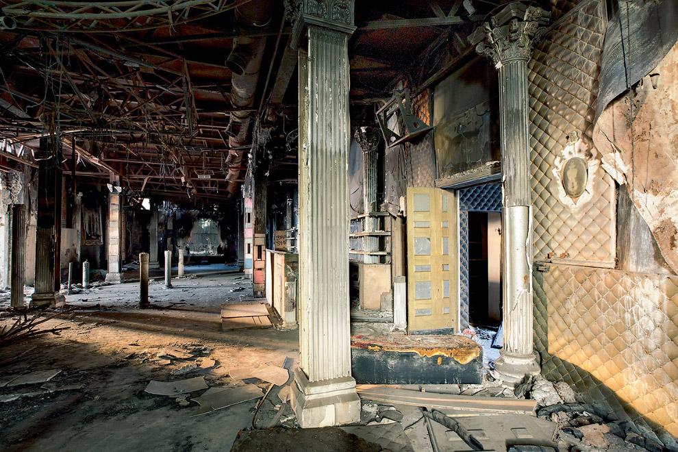 Заброшенный советский кинотеатр, Россия