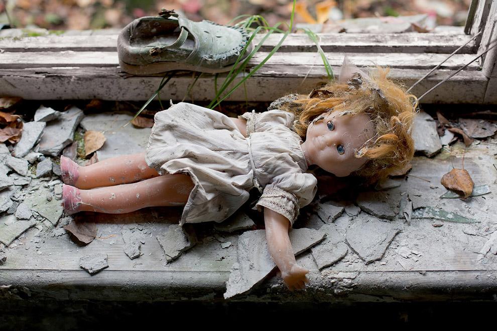 Детский сад в заброшенном городе Припять, Украина