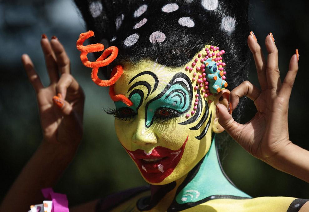 Международный фестиваль бодиарта