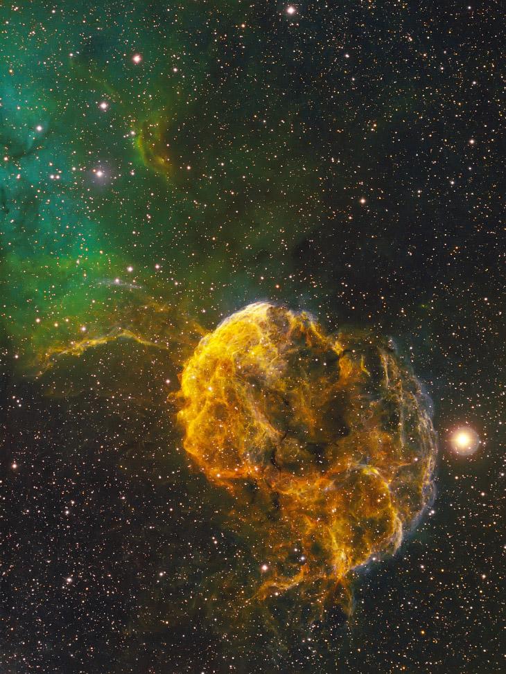 Планетарная туманность Медуза