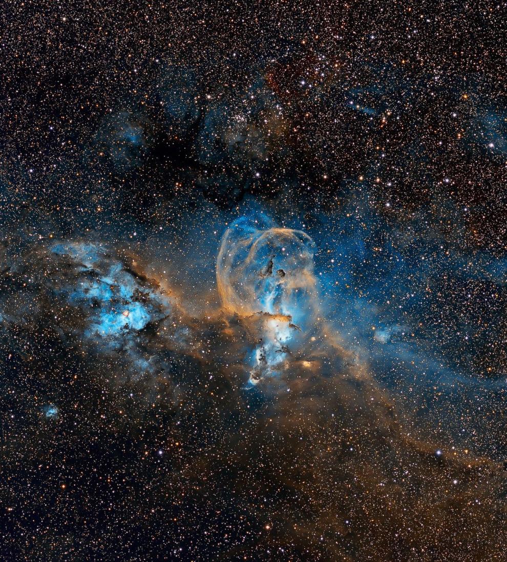 Автор назвал снимок «Свобода», не разъясняя, что это за область вселенной