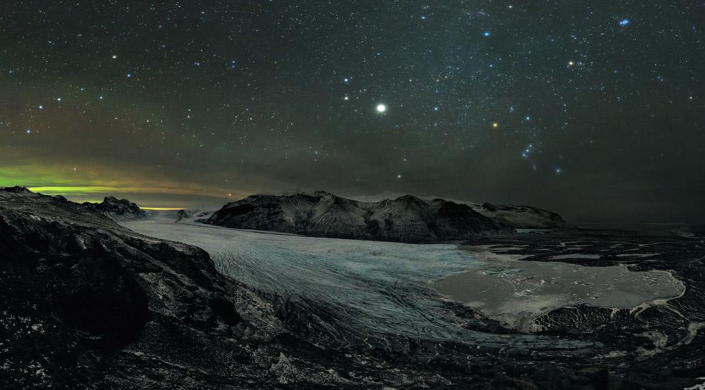 Национальный парк Скафтафетль в Исландии