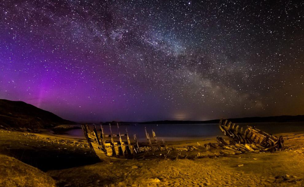 Наша галактика Млечный путь, Шотландия