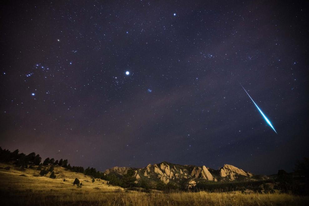 Метеорный поток в штате Колорадо