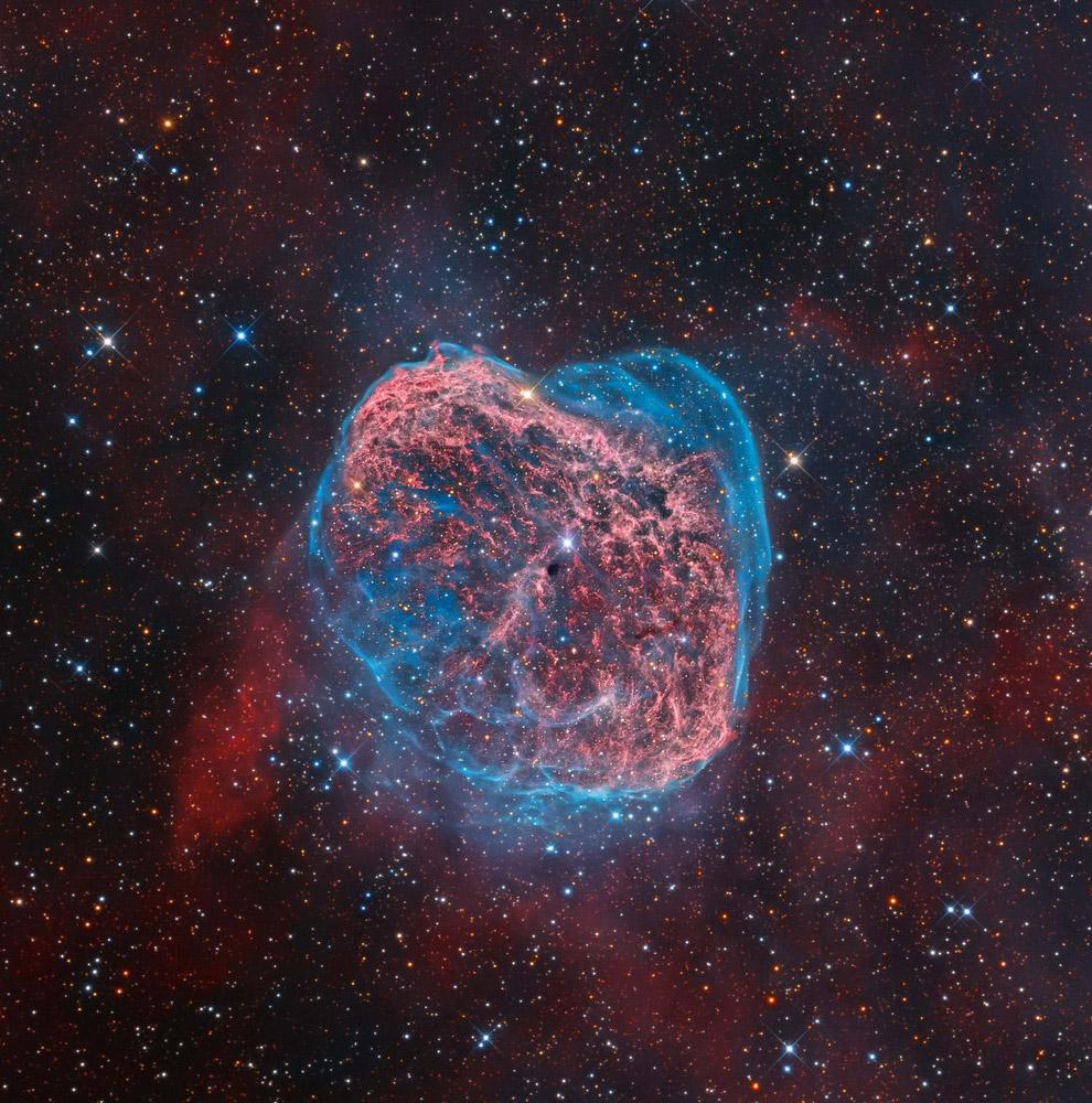 Туманность NGC 6888