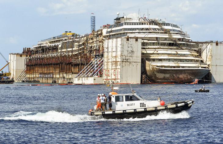 Последнее путешествие лайнера Costa Concordia