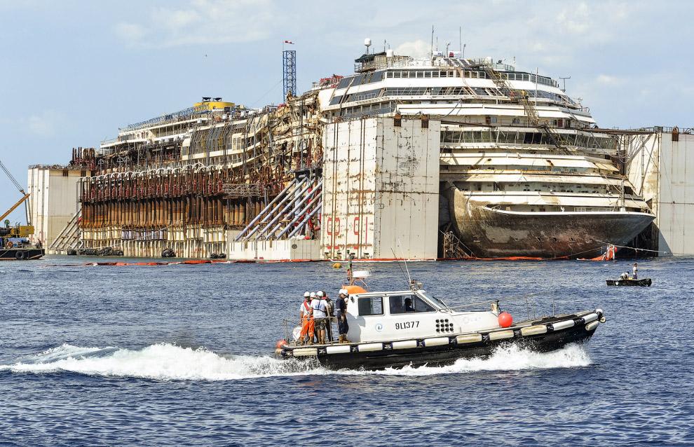 Это последнее путешествие лайнера Costa Concordia