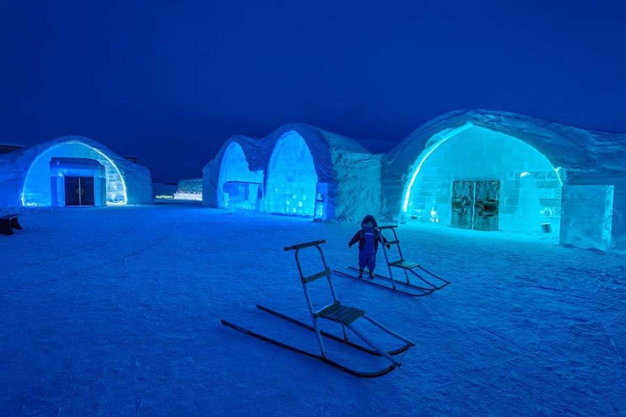 Ледяной отель, Швеция