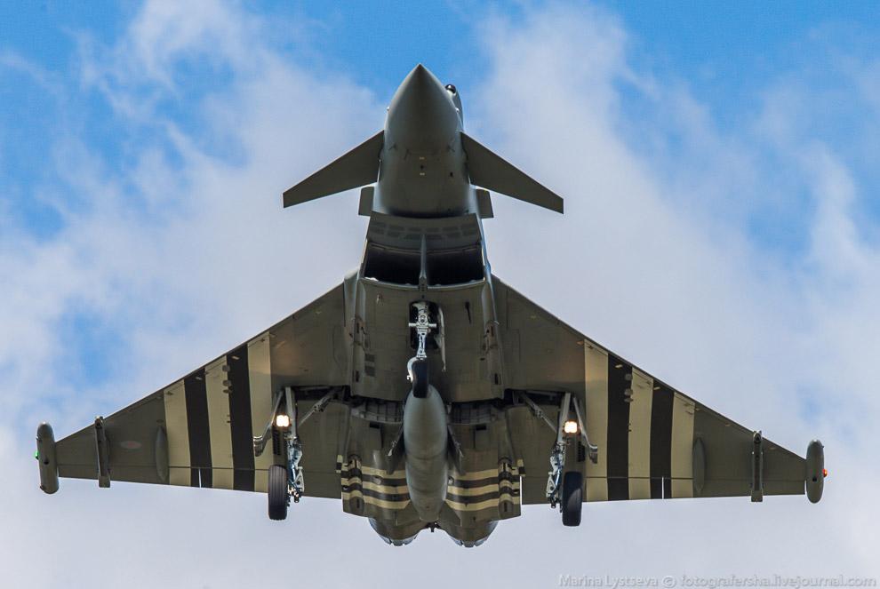 Истребитель четвертого поколения Eurofighter